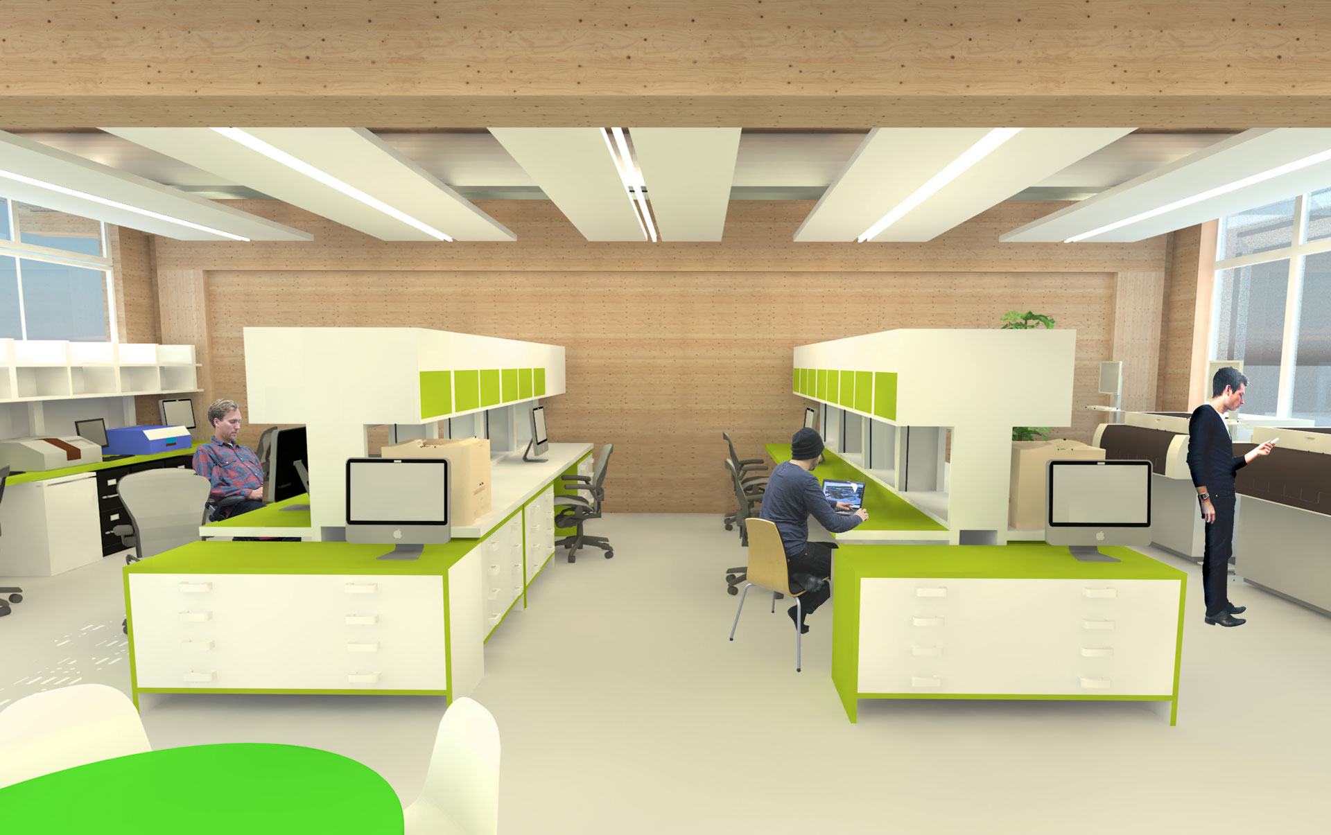 Bristol & Bath Science Park BBSP2 Accelerator Studio Interior Visualisation VR CAD Offsite