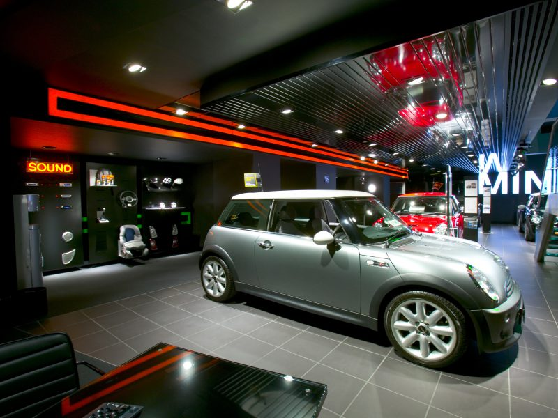 MINI Park Lane Sound Red Neon Cooper S