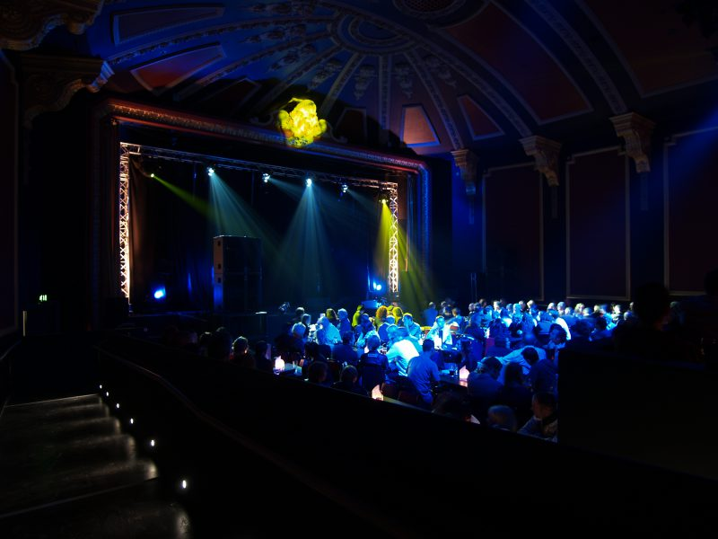 Komedia Bath Comedy Club Auditorium Lighting