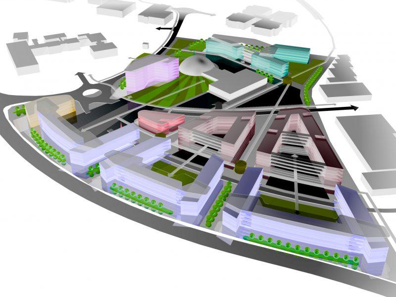 Swindon University Masterplan