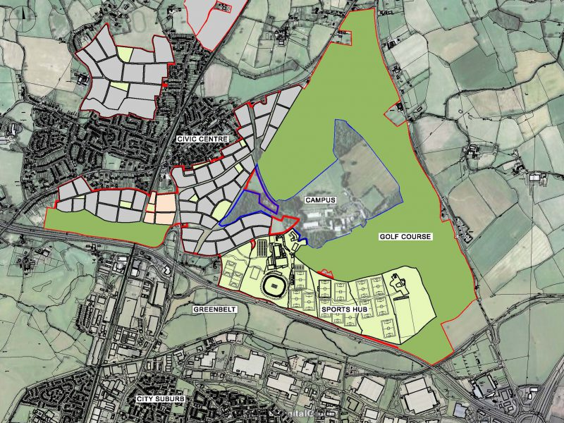 Hindlip Sports Village Masterplan