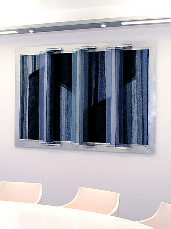 Reflections Gill Hewitt Studios Textile Wall Panel