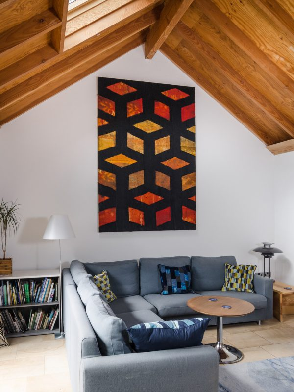 Gill Hewitt Studios Jali Wall Panel Acoustic Textile