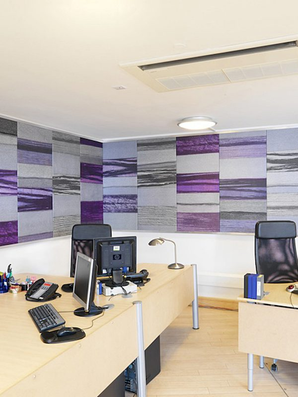 Films @ 59 Wall Panel Gill Hewitt Studios Strata Acoustic Textile