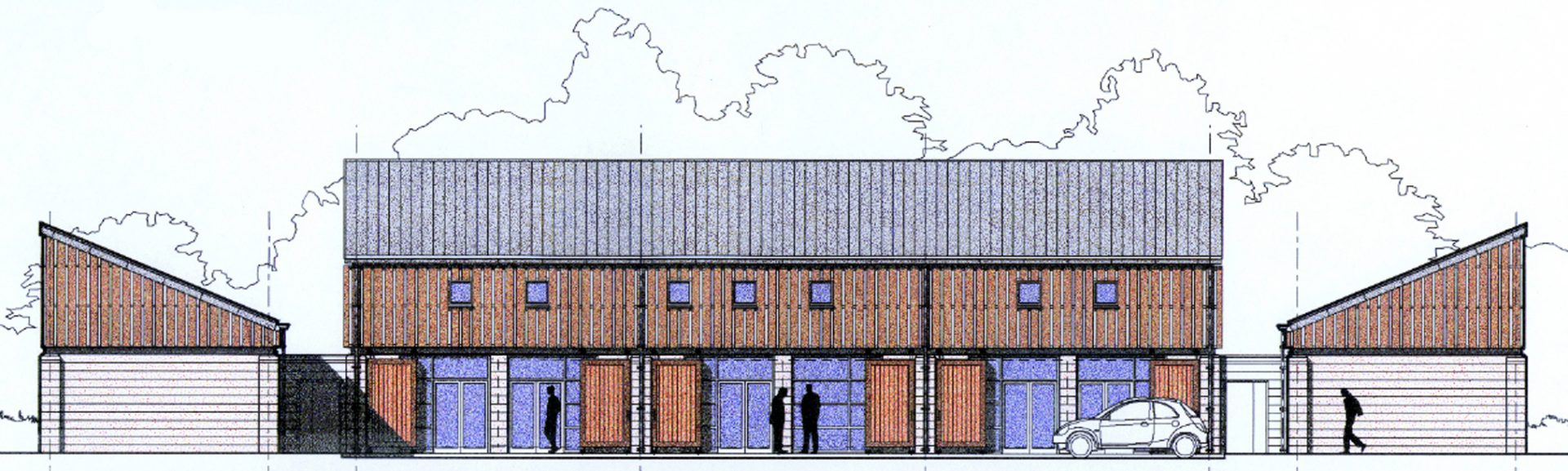 Herefordshire Food & Drink Centre Elevation