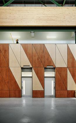 SGS Berkeley Green Plywood CLT Crosslam