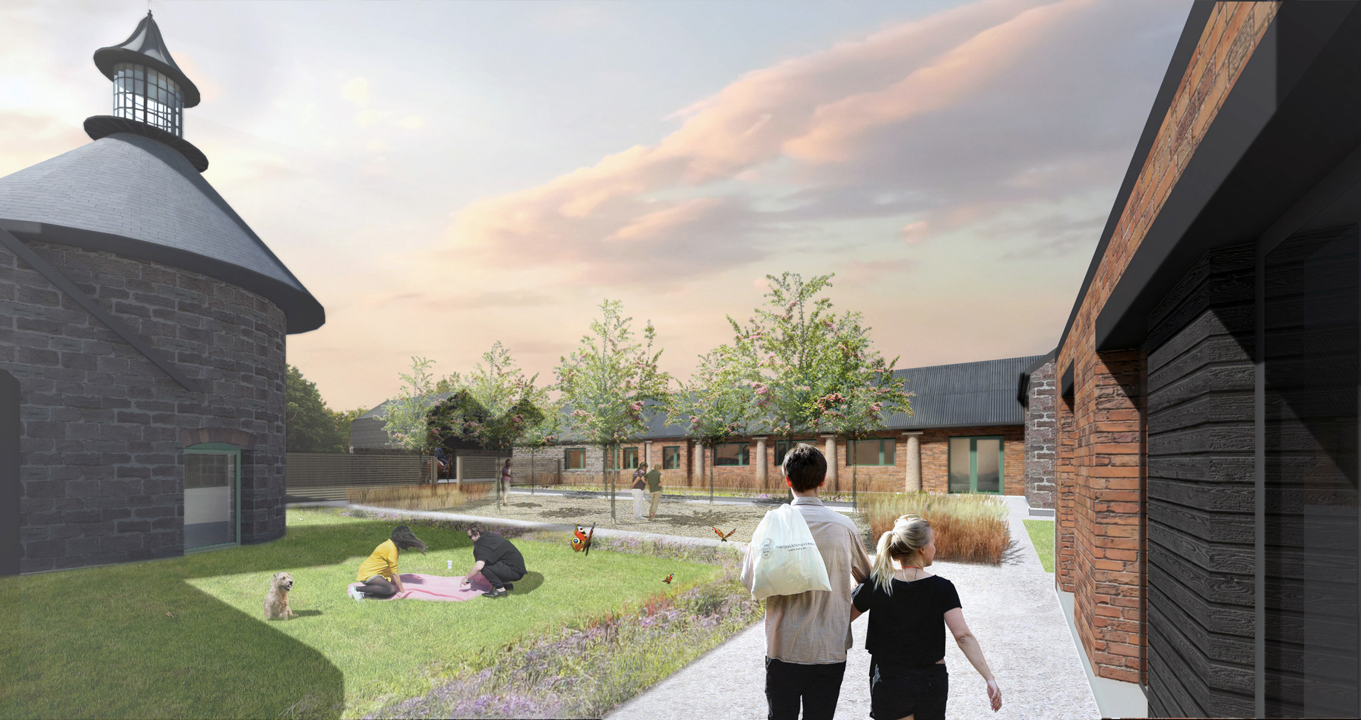 Holme Lacy Pound Farm Courtyard Planning Residential