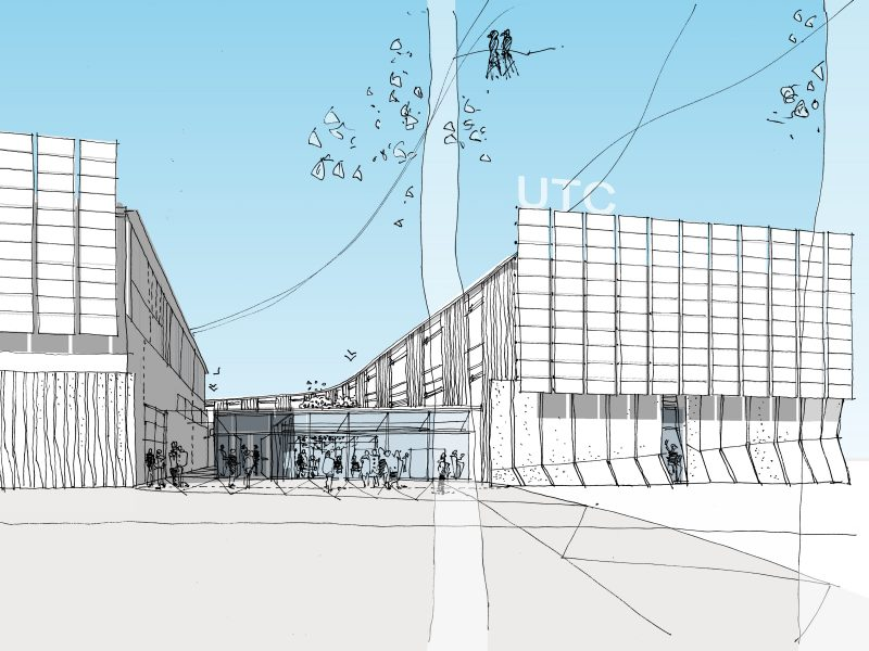 Berkeley UTC University Technical College Artists Impression Architects Sketch