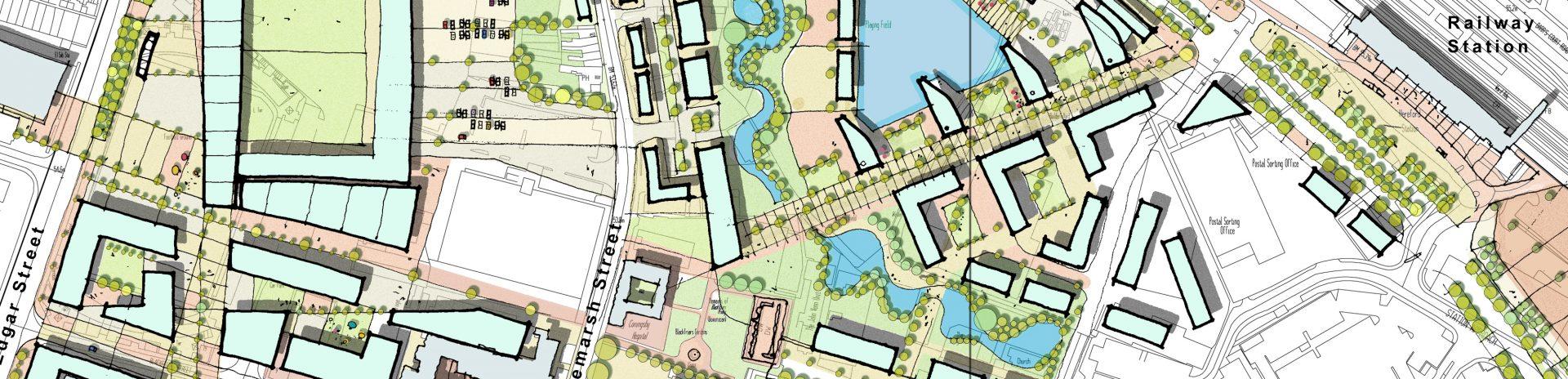 20:20 Vision Hereford Edgar Street Grid Masterplan