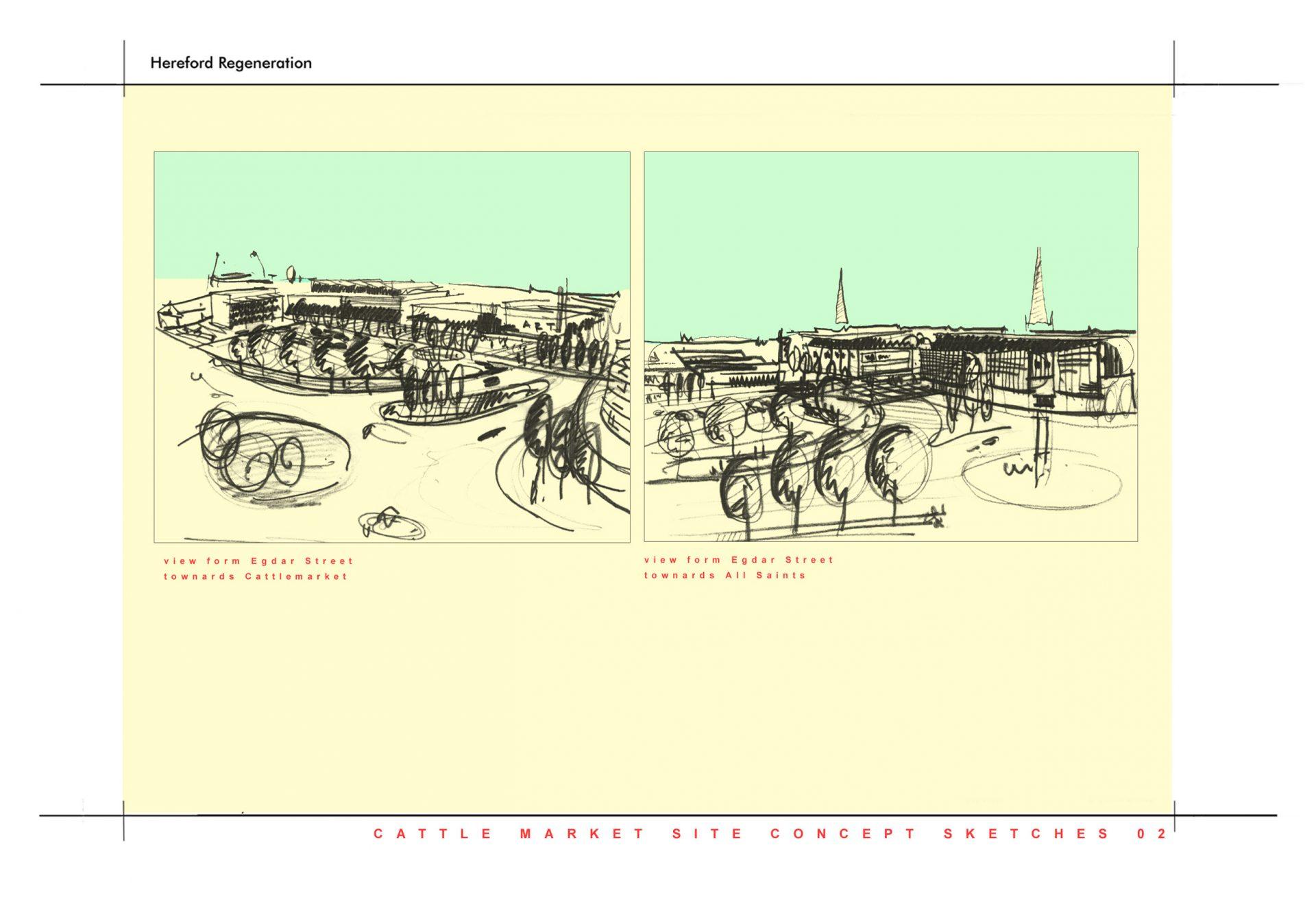 Hereford Edgar Street Grid Sketch Views 20:20 Vision