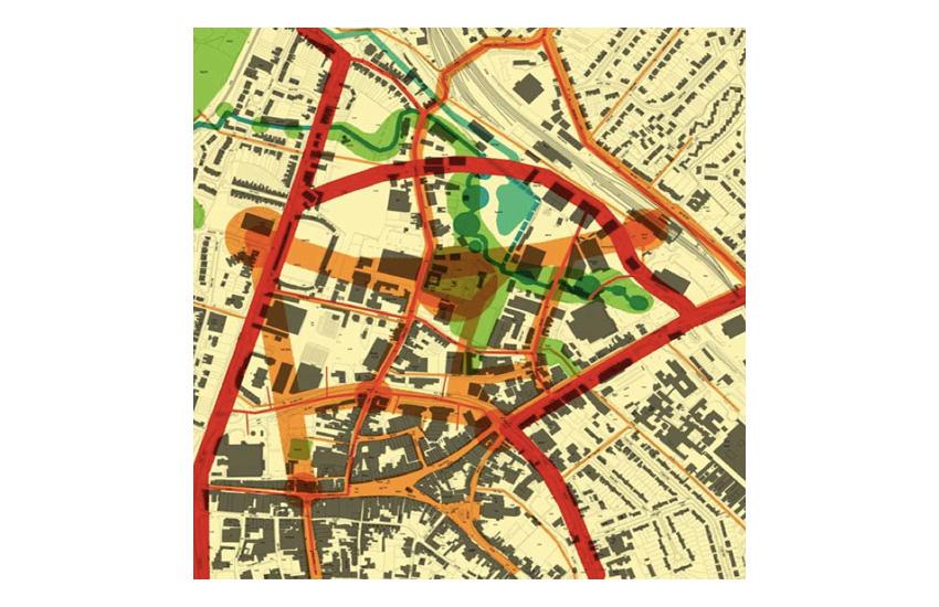 Hereford Edgar Street Grid Sketch Hereford Edgar Street Grid Analysis Masterplan