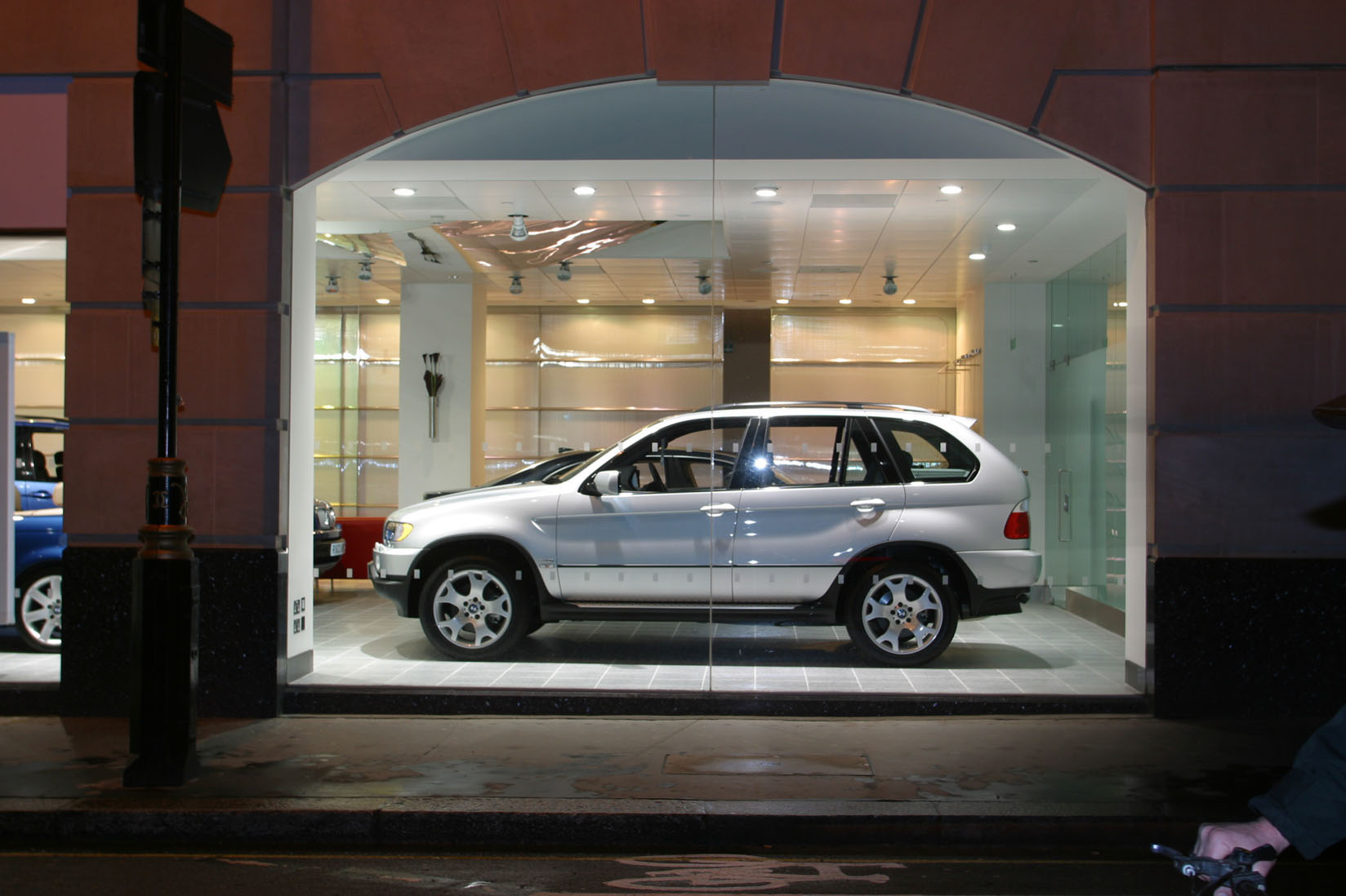 BMW Marsham Street Silver X5 Window