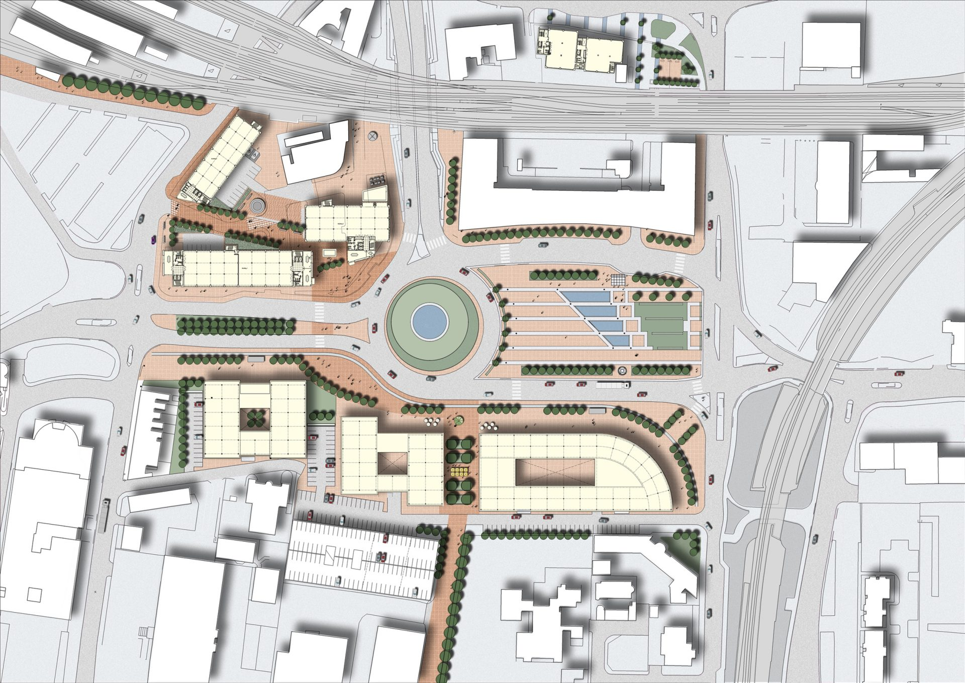 Callaghan Square Cardiff Office Buildings Masterplan