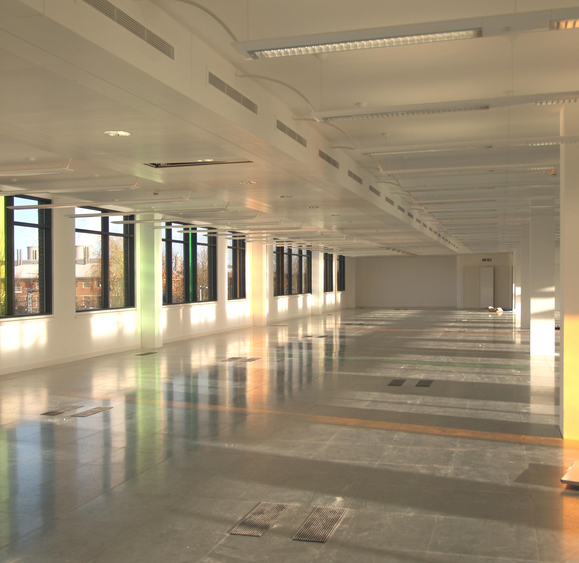 97 Milton Park Office Building Floor