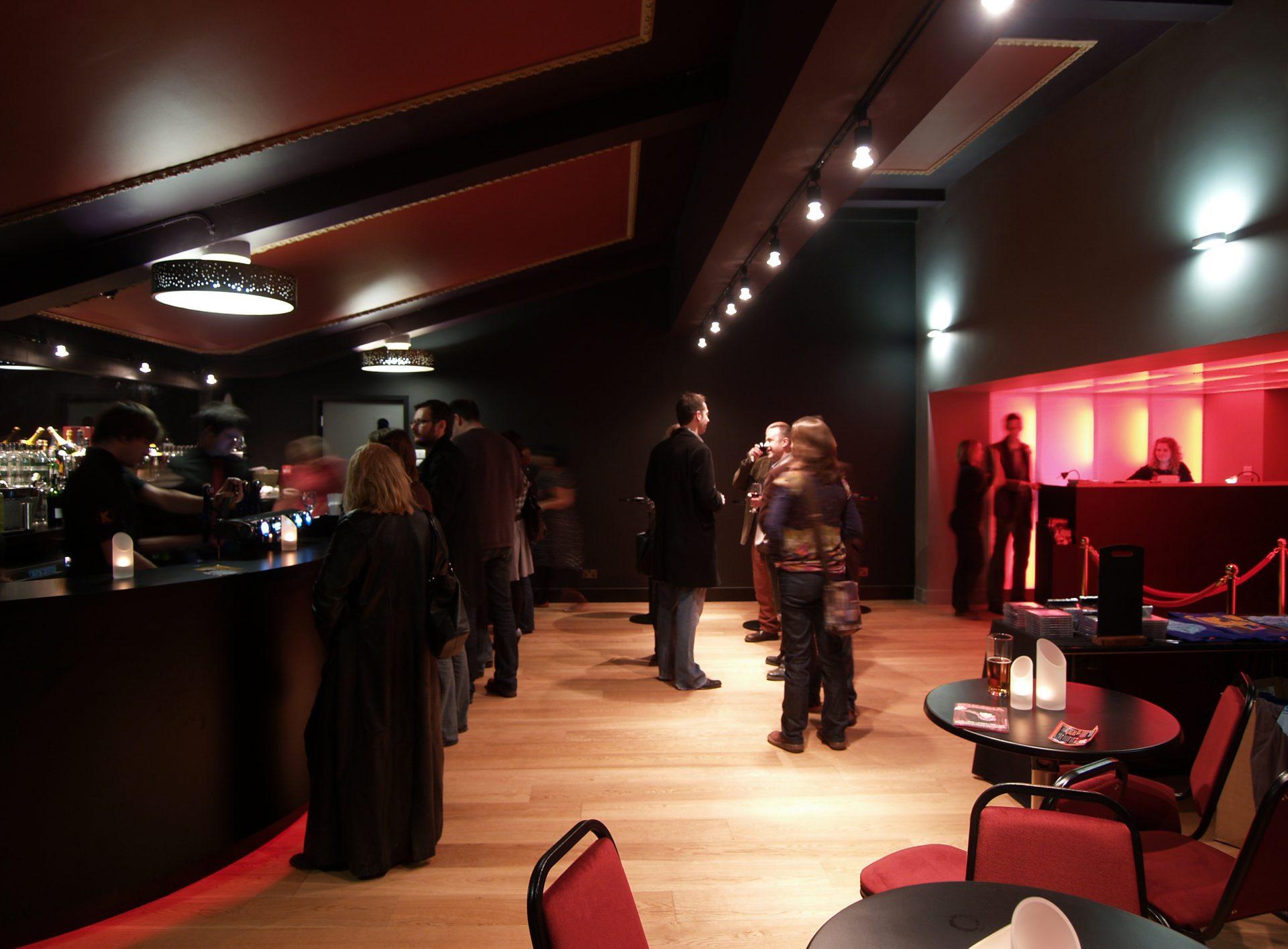 Komedia Bath Comedy Club Cafe Bar Cinema Conversion Light Tunnel Box