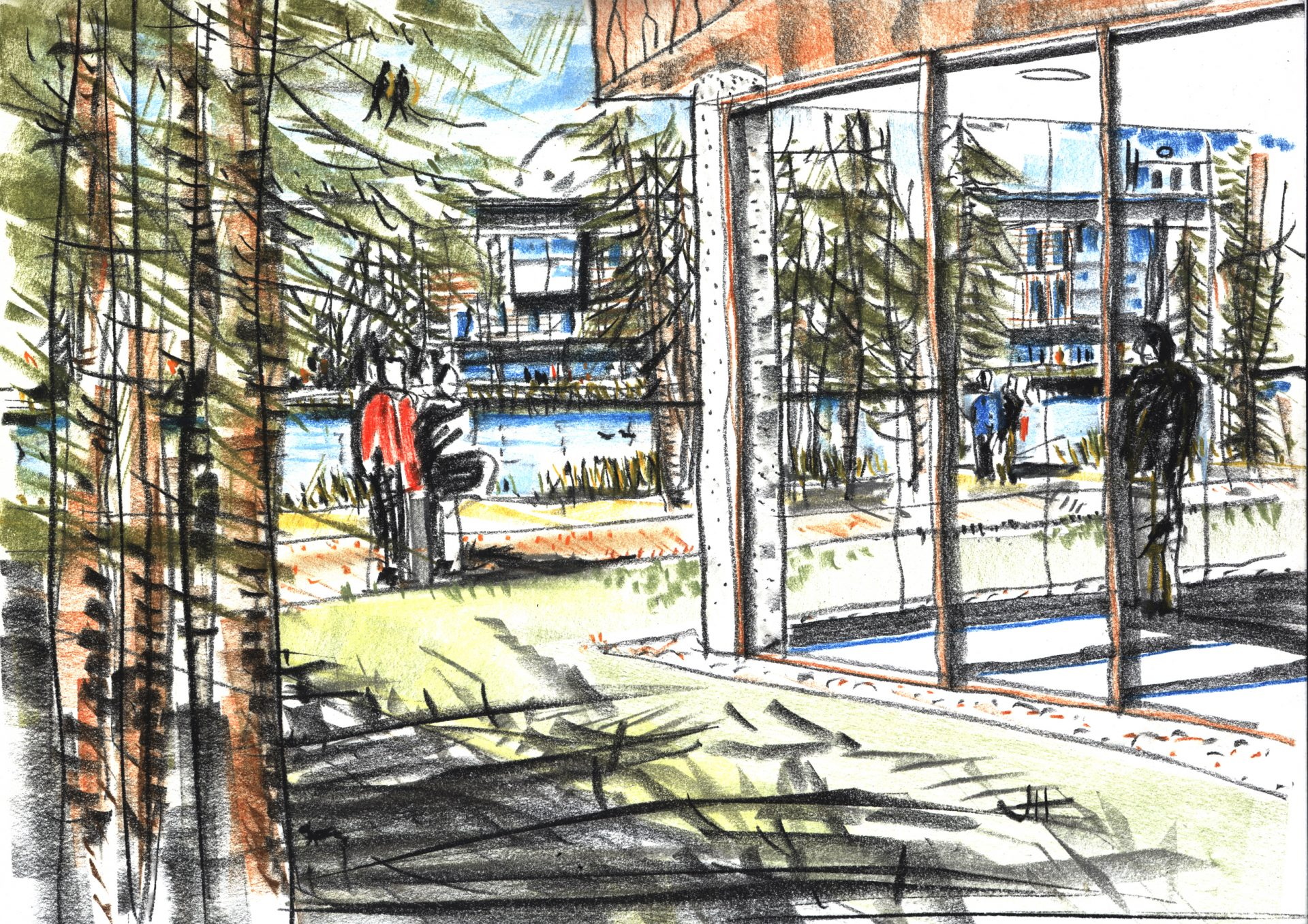 Latvia East Jurmala Sketch Artists Impression