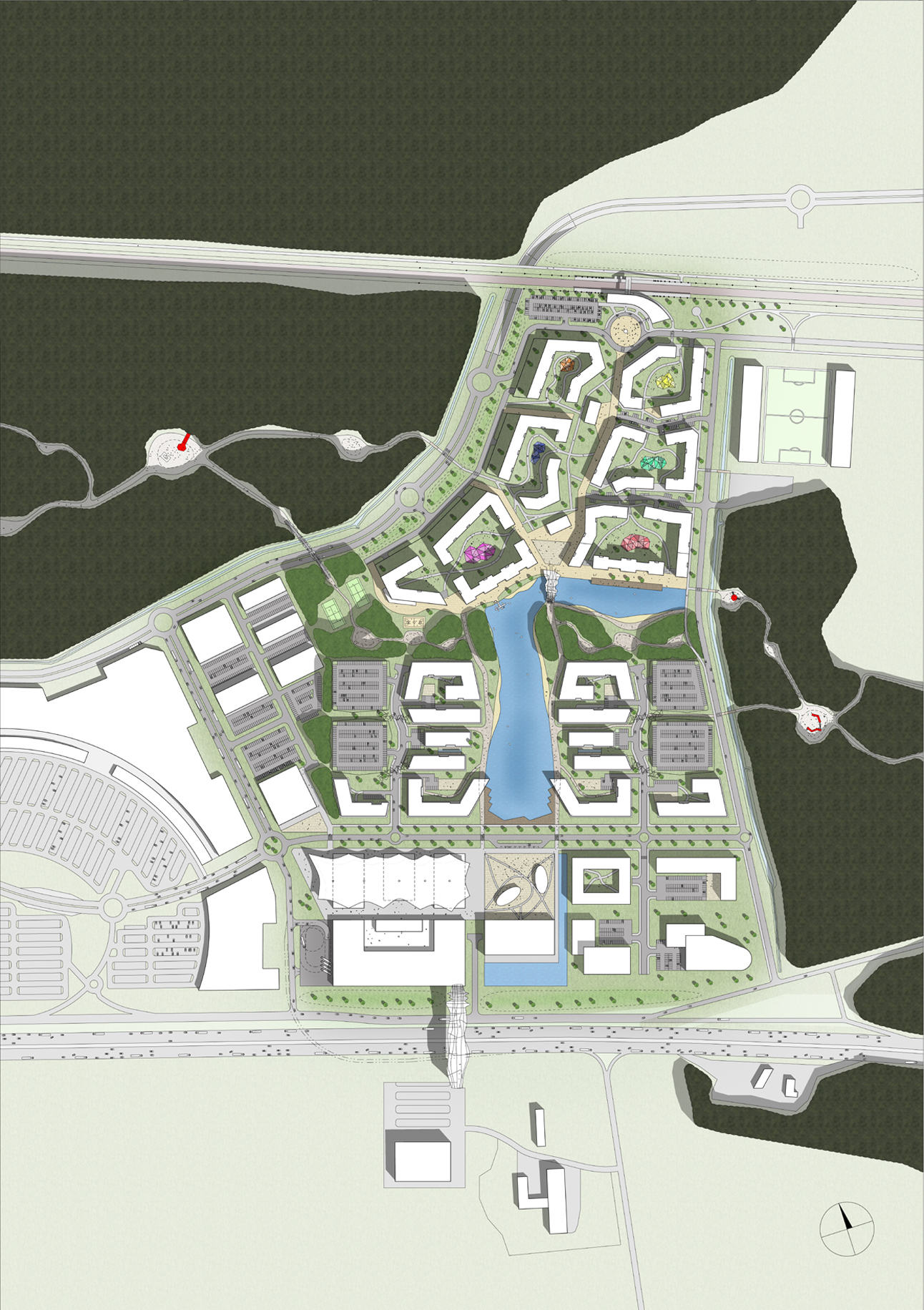 Latvia East Jurmala Masterplan