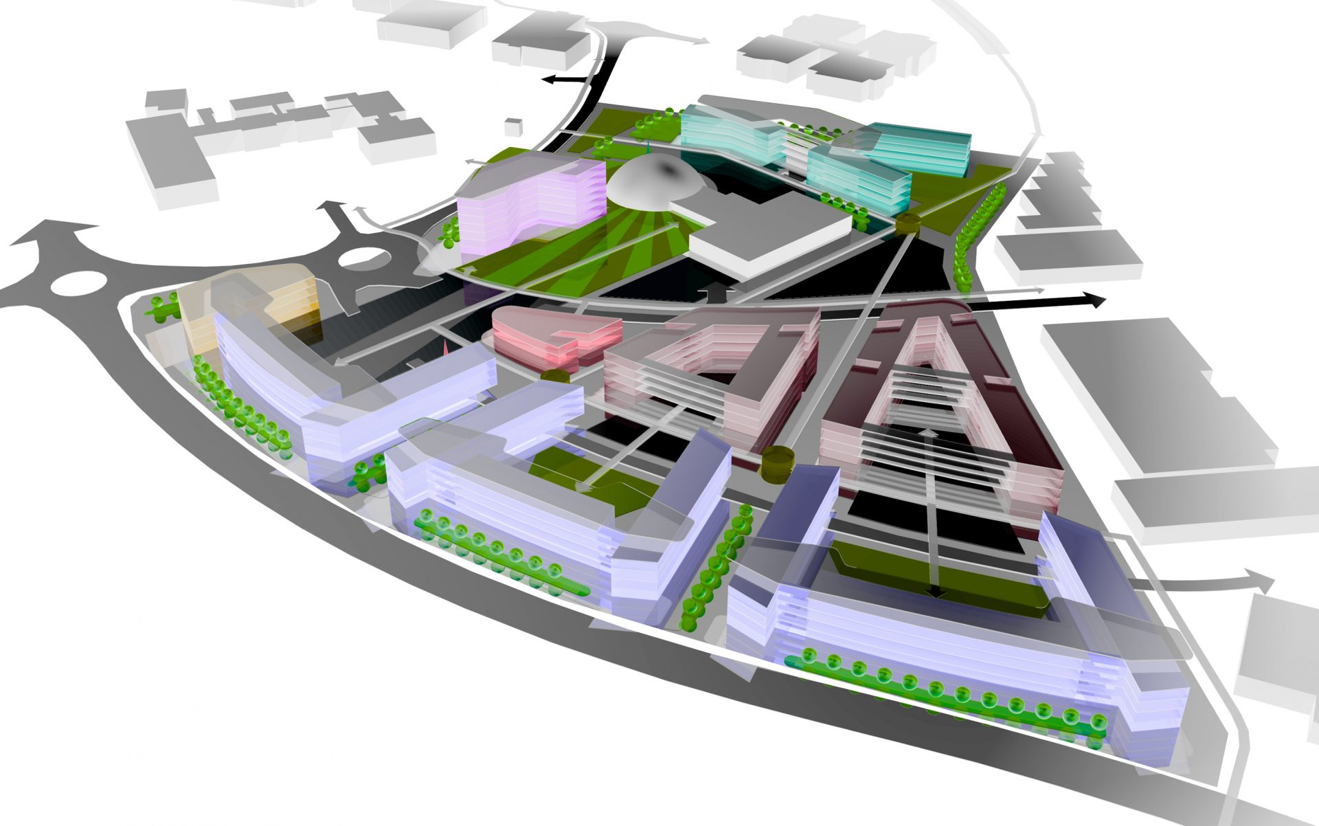 Swindon University Masterplan