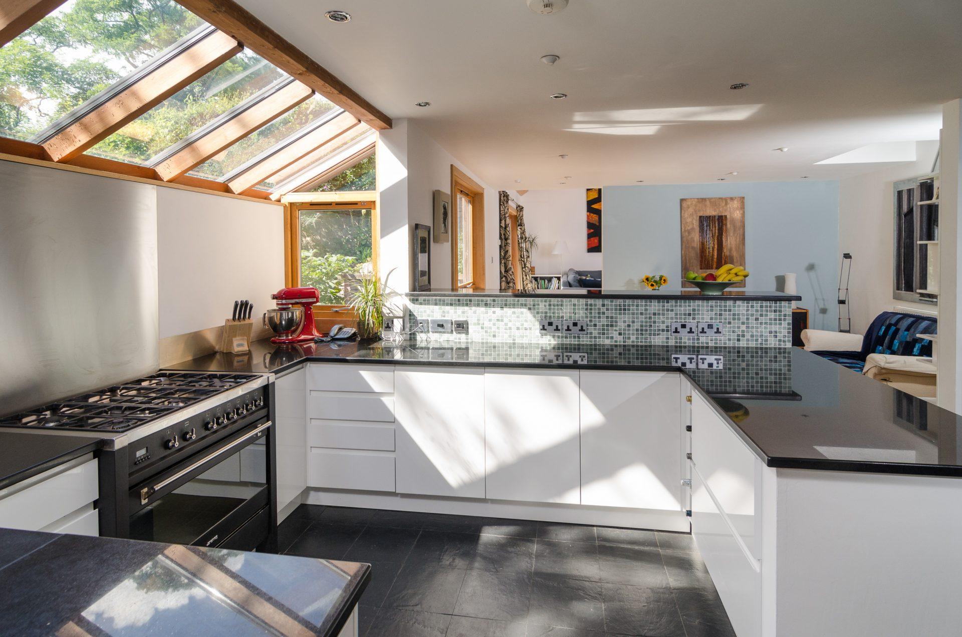 Sion Road Eco-Home Kitchen White Units