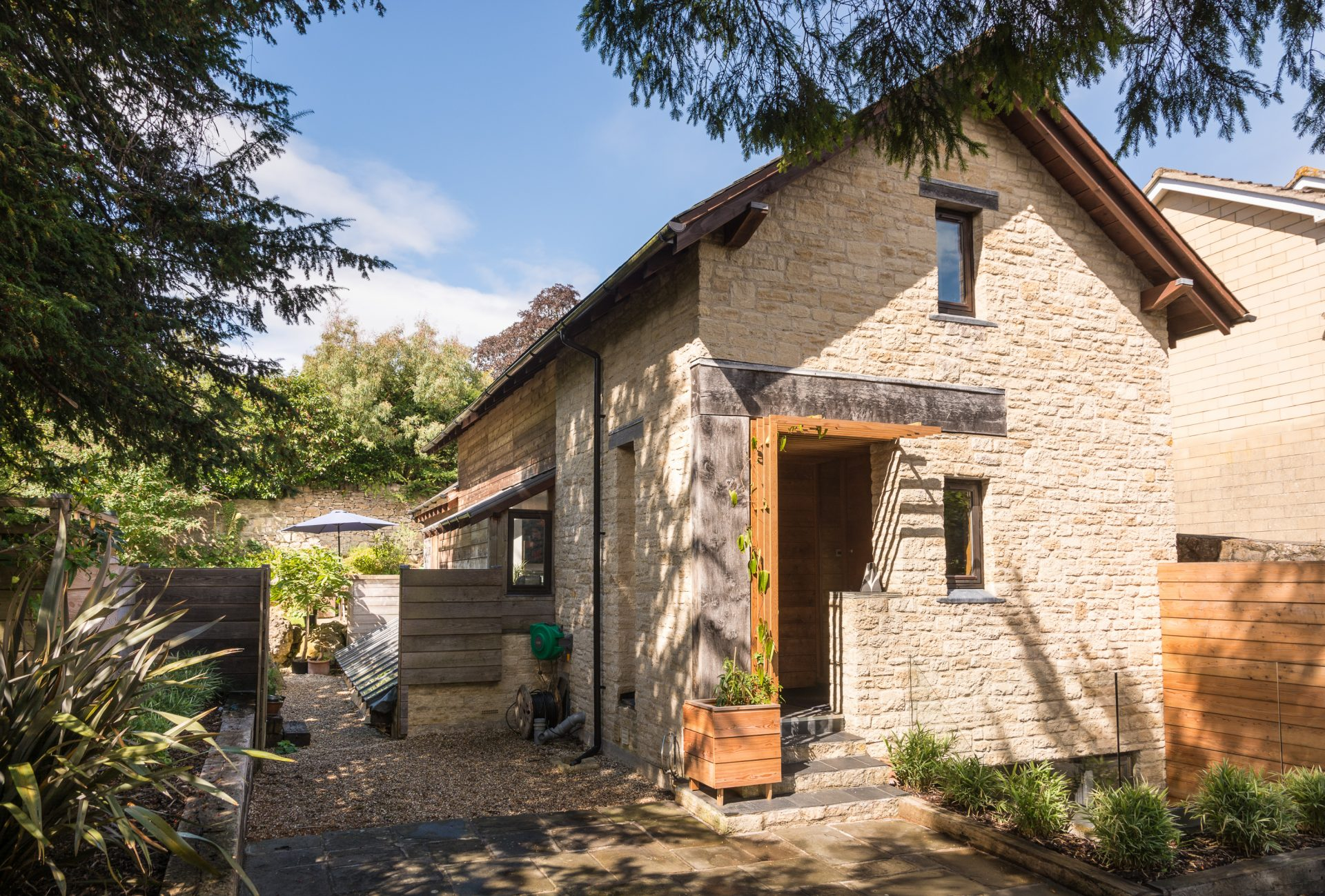 Sion Road Eco-Home Cotswold Stone Oak