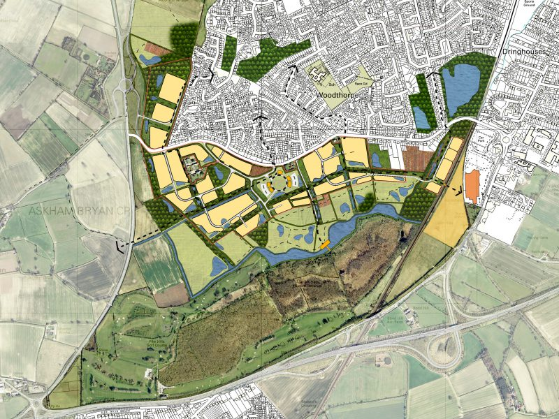Moor Lane York Masterplan Woodthorpe