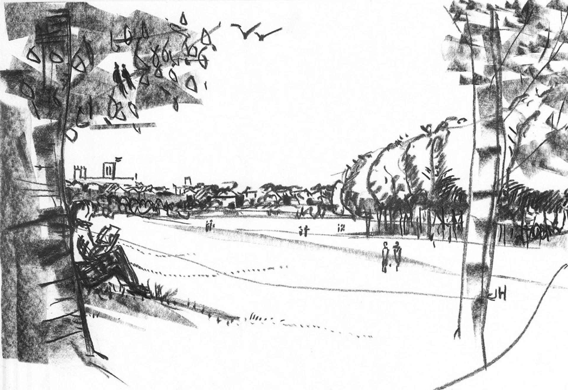 Moor Lane York Sketch Artists Impression