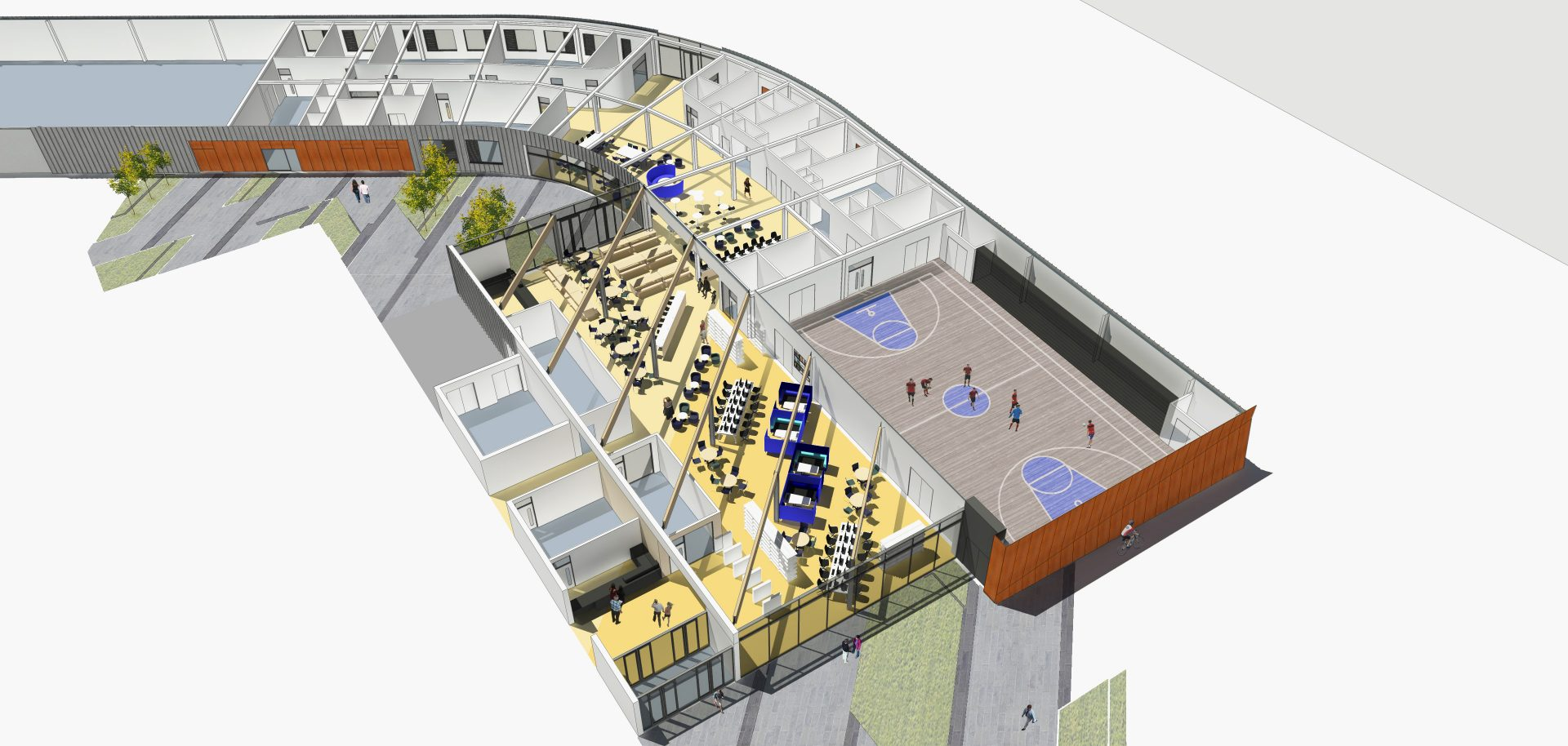 Berkeley UTC Axo Sports Hall Cyber Cafe