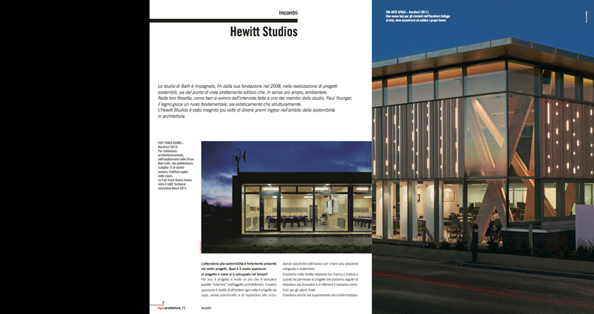 Hewitt Studios Interview Legno Magazine Paul Younger