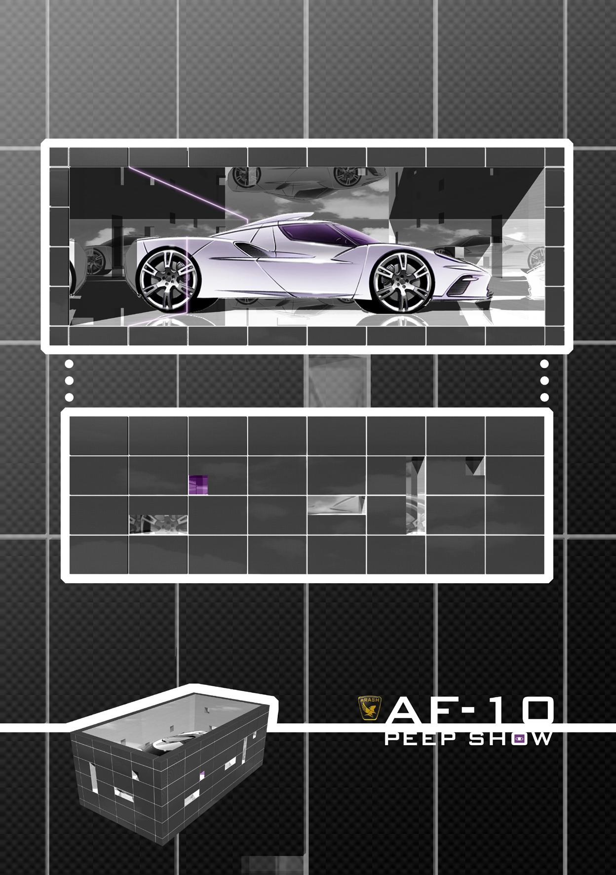 Arash Motor Company Peep Show Concept AF-10
