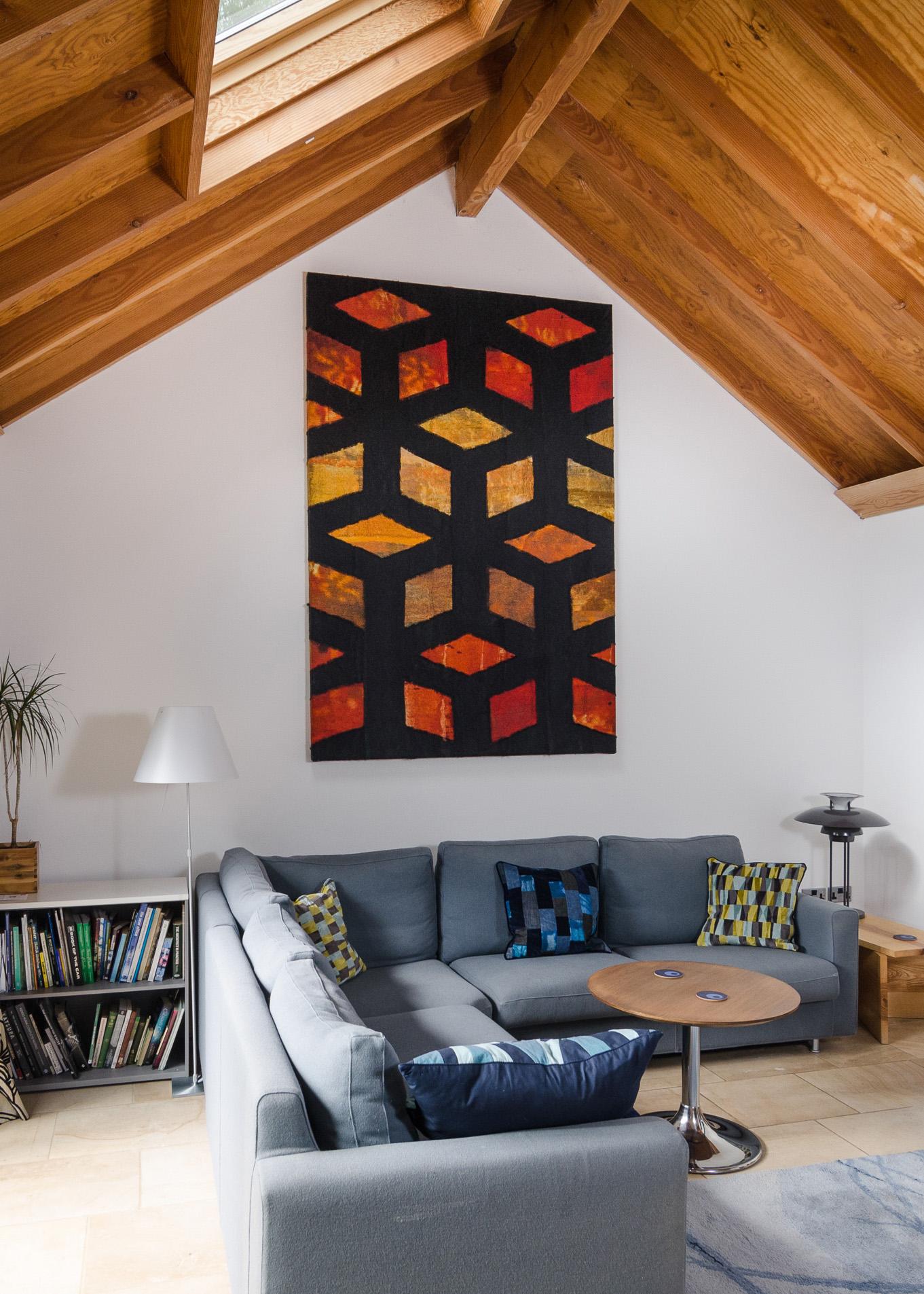 Gill Hewitt Studios Jali Wall Panel Acoustic Textile
