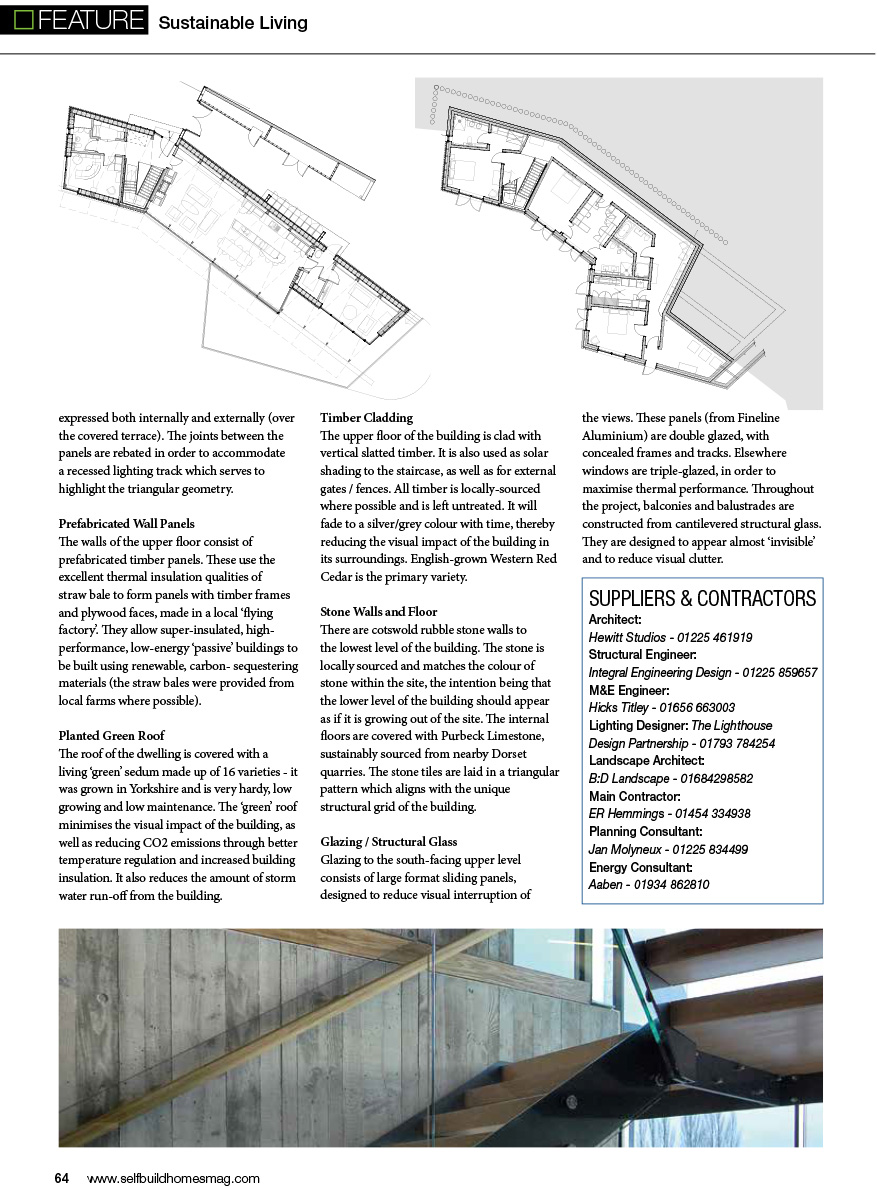 Self Build Homes Mag – Hewitt Studios