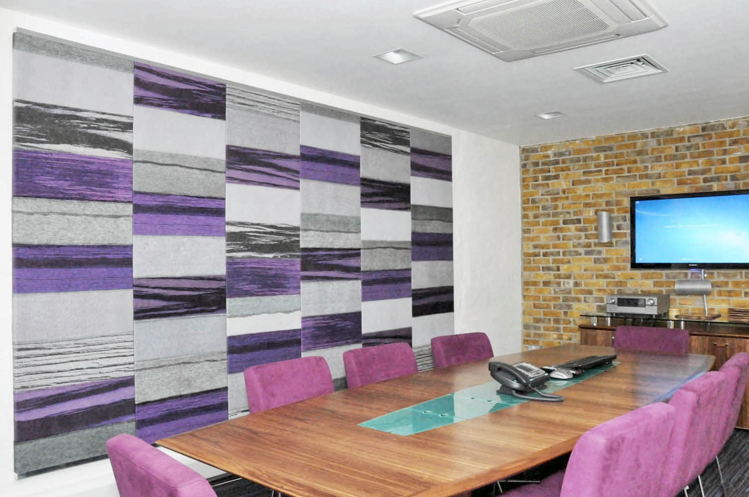 The Edge Covent Garden Meeting Room Strata Acoustic Panels