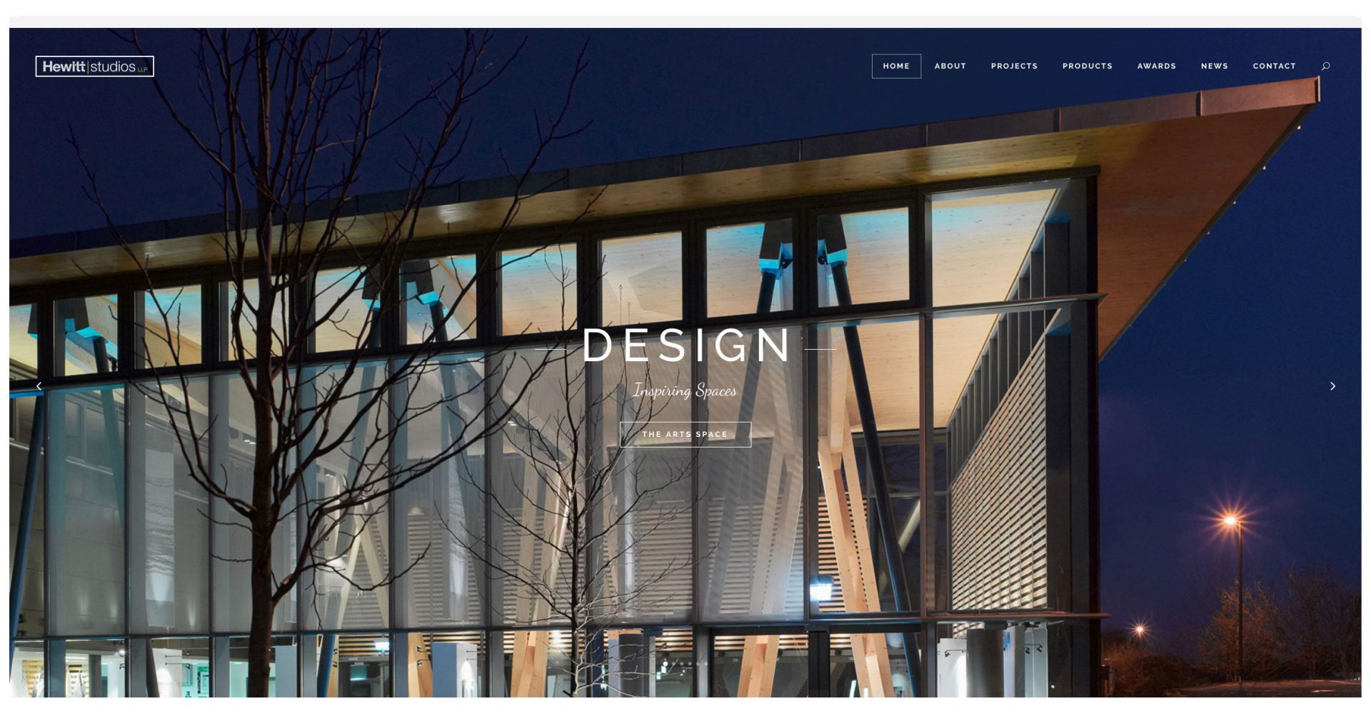 Hewitt Studios new website launch redesign