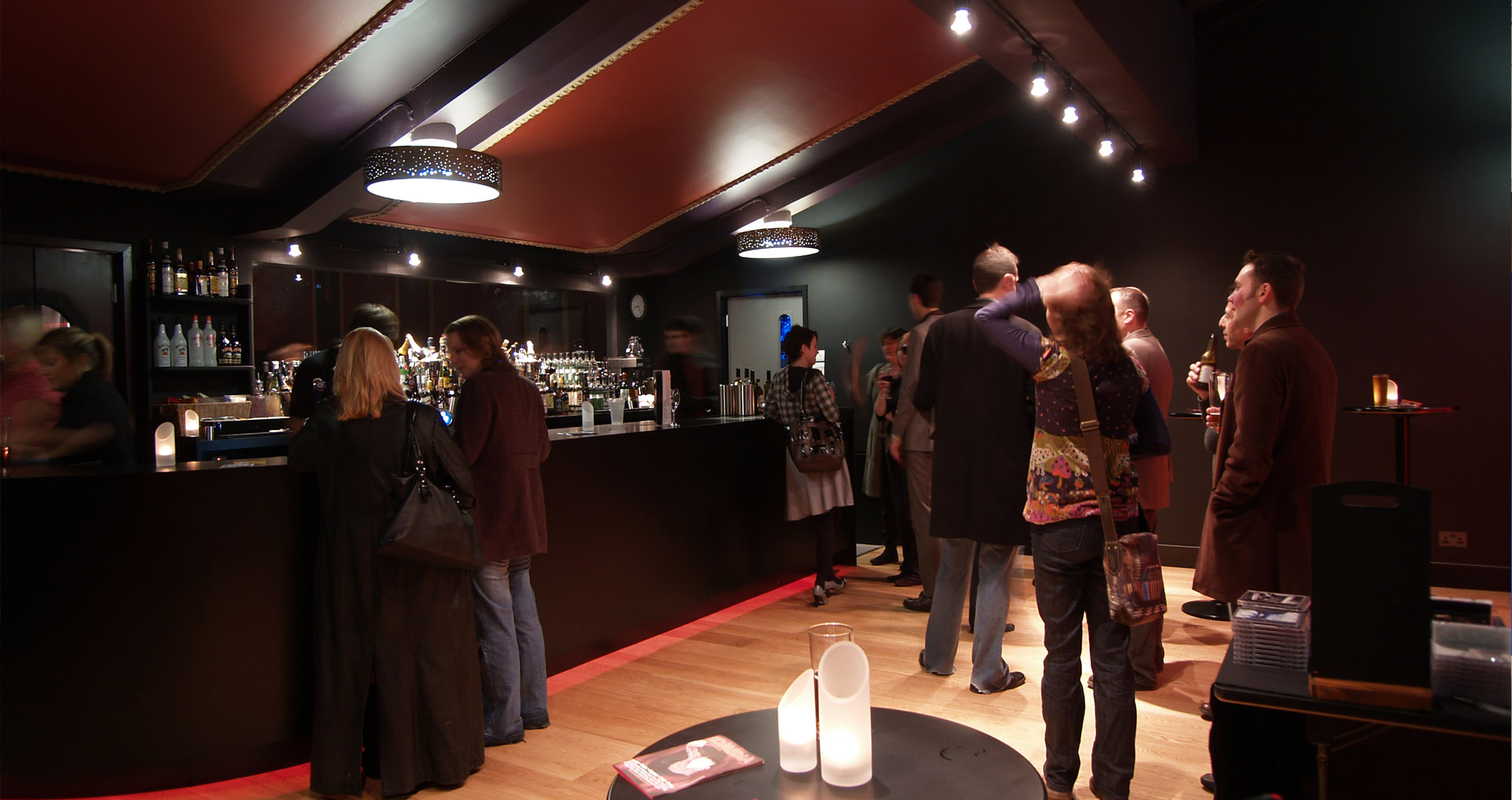Komedia Cafe Bar Opening Night Paul Younger Hewitt Studios Architect
