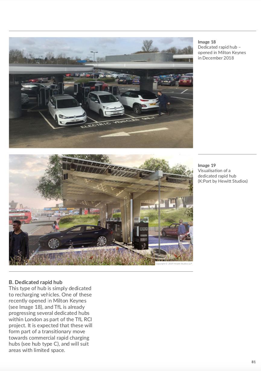 K:Port EV charging hub London mayor