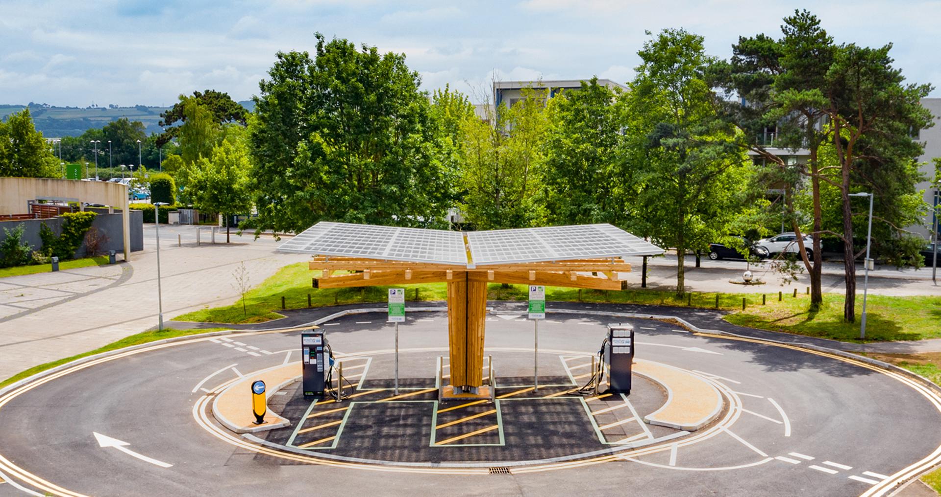 EV Rapid Charging Hub Marina