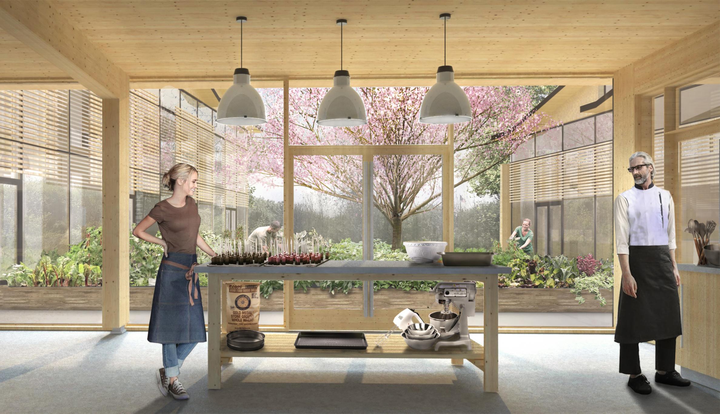 Sustainable Kitchen Food Production