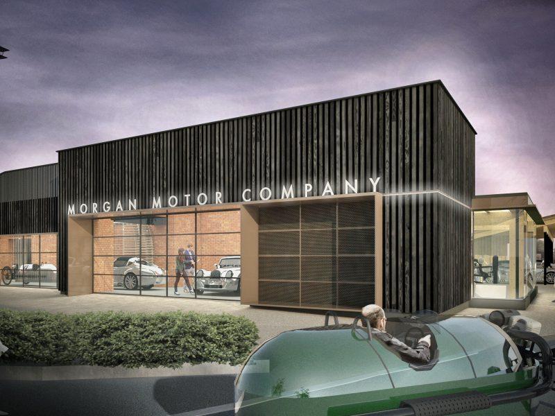 New Morgan Showroom Malvern