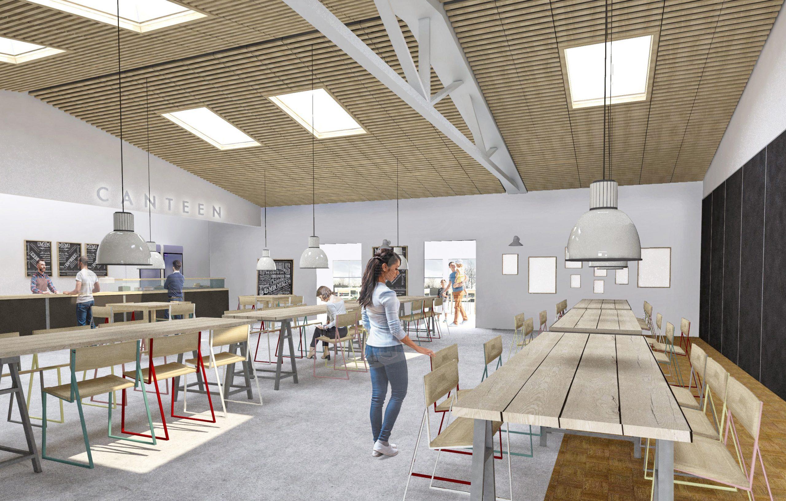 Morgan Works Canteen