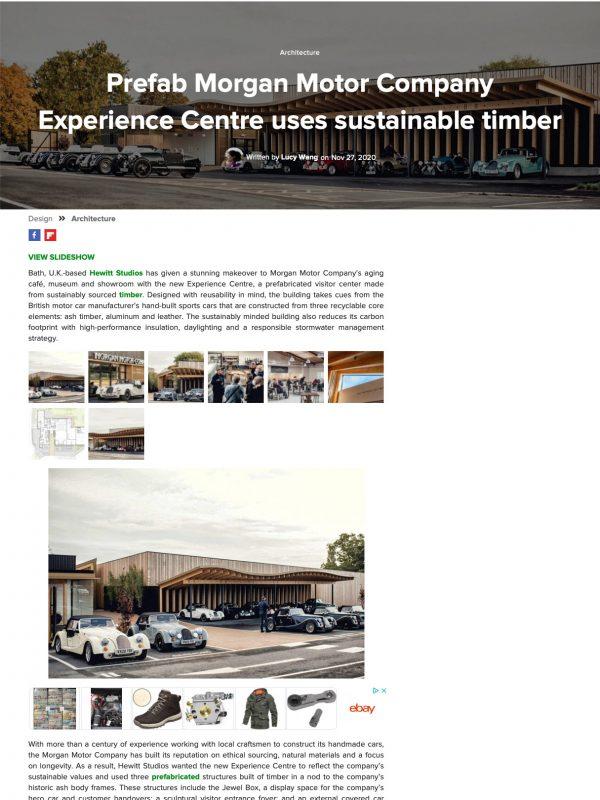 Morgan Experience Centre