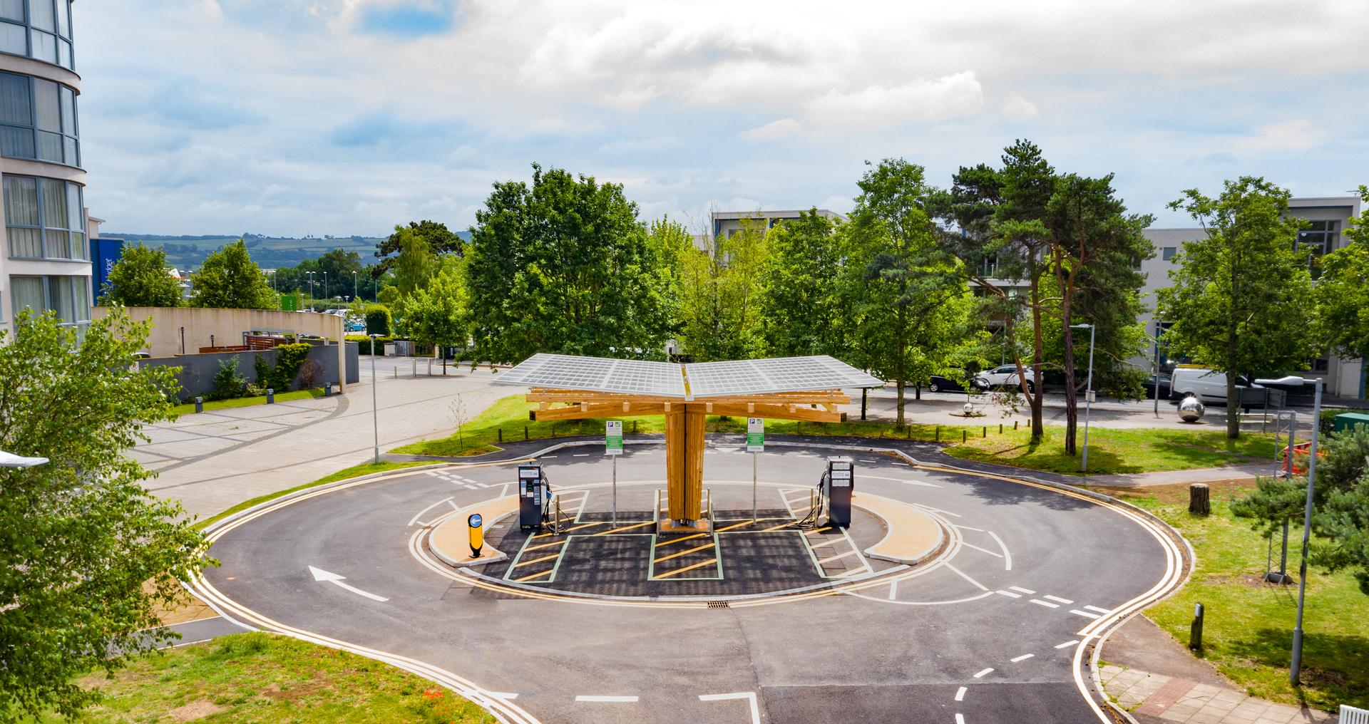 EV Rapid Charging Hub