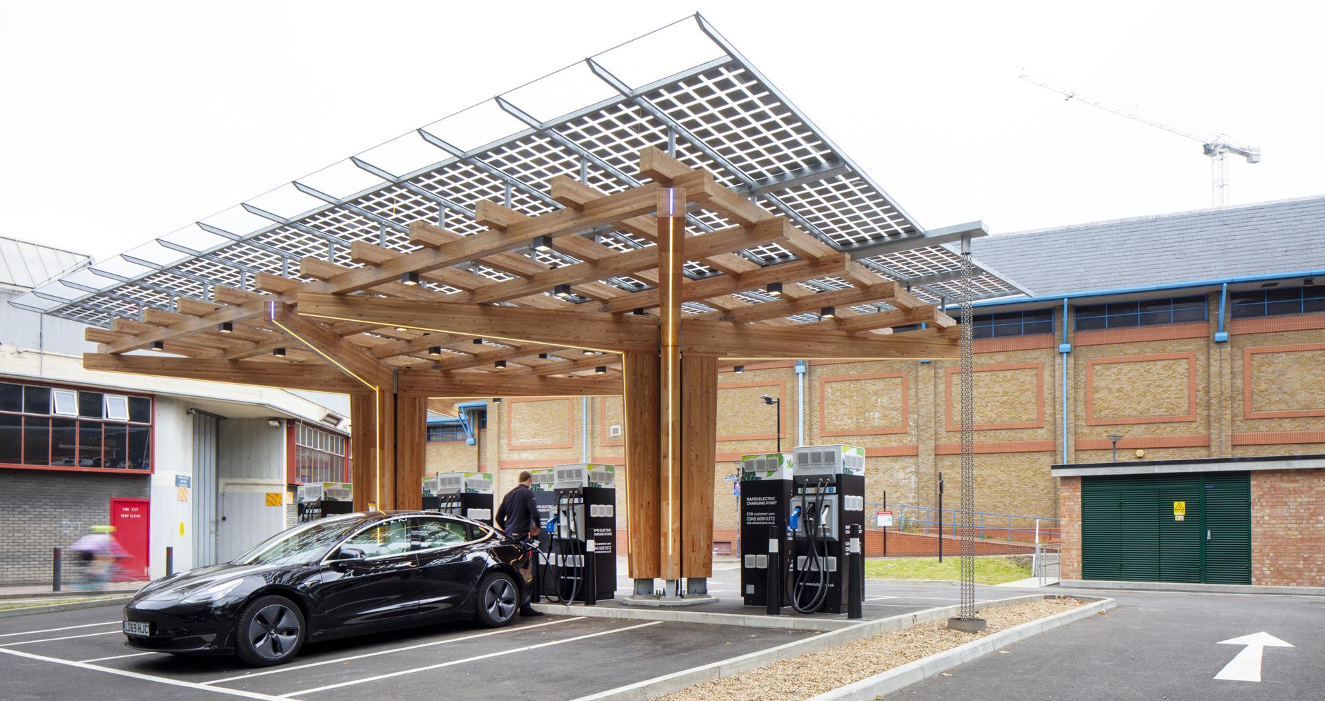 Siemens ESB Energy Mobility Hub